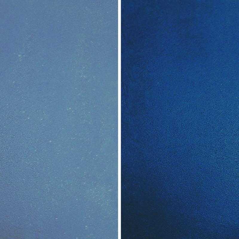 Dark Blue Concrete Stain